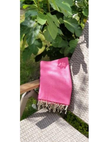 Summer rose honeycomb fouta