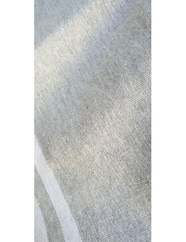 FOUTA PLATE GRIS PERLE - NATURE SPIRIT