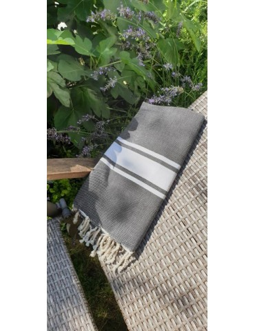 Funny Fouta Plate Nuit - Nature Spirit
