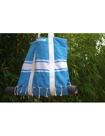 Sky double tote bag