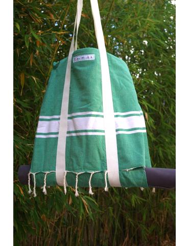 Sac Fouta Vert Forêt - nature Spirit