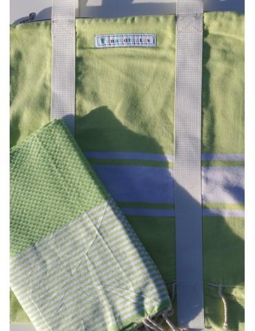 Set - Grass bag and honeycomb fouta