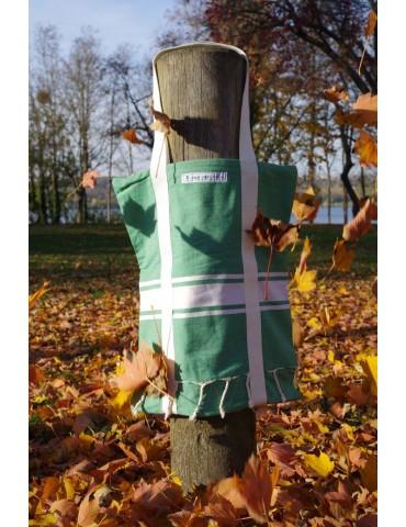 Sac Fouta Vert Forêt - nature Spirit - Funandfoutas