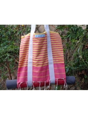Summer double tote bag