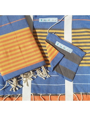 Set - Europe bag and fouta
