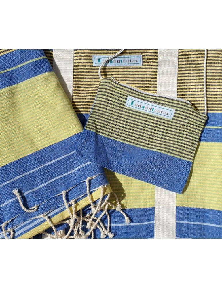 Ensemble sac et fouta Scandinavie  - collection City Spirit Funandfoutas