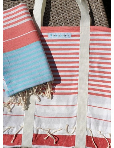Set - Spring bag and fouta