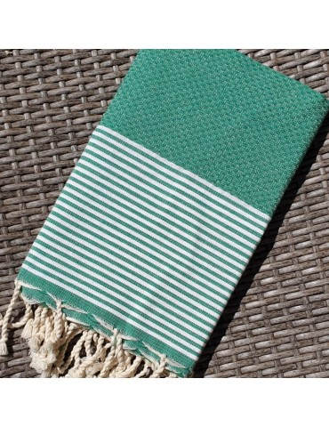 Forest Green honeycomb fouta