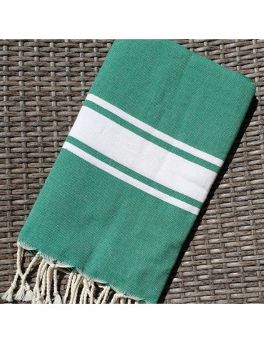 Funny Fouta Plate Forest Green