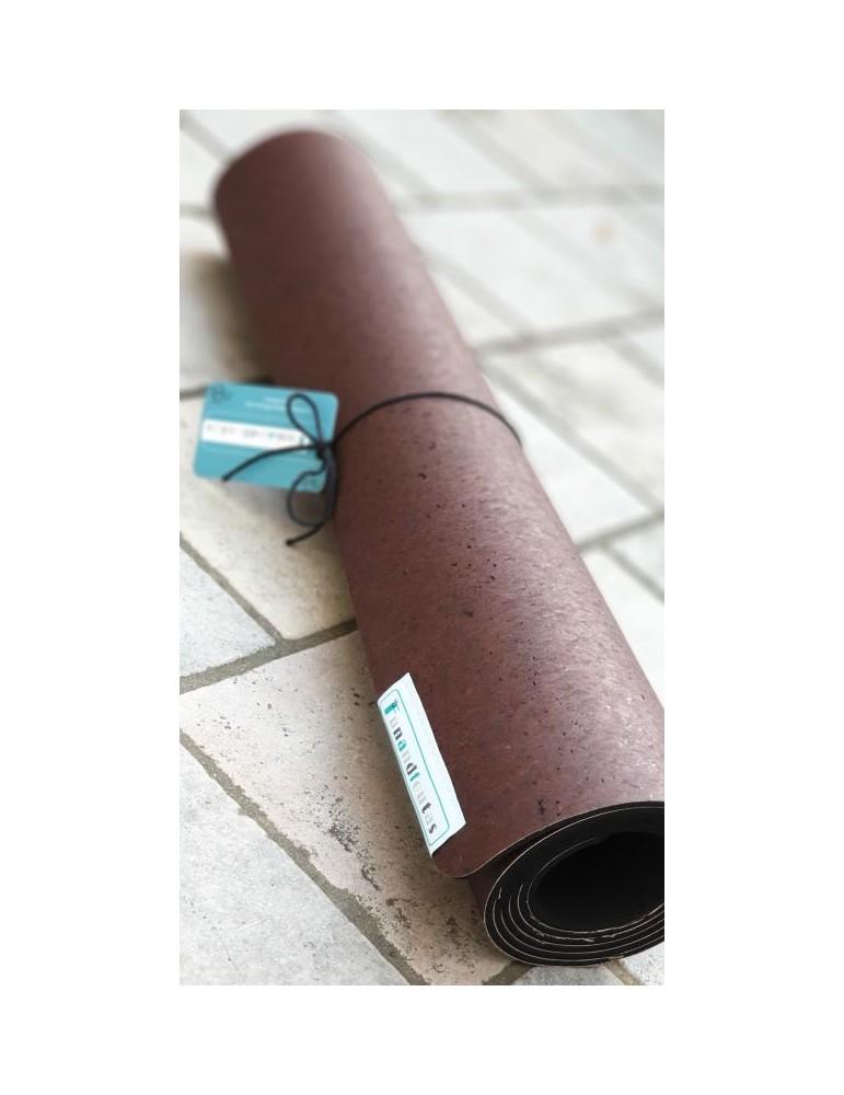 Tapis de Yoga chocolat zen Funandfoutas