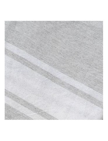 Funny Fouta Plate Gris Perle